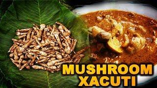 Mushroom Xacuti | Mushroom Dish | Goan Food | अल्म्यांचे तोणाक