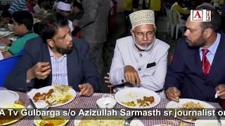Valima Ceremony of Ayatullah Sarmasth MD A Tv Gulbarga s/o Azizullah Sarmasth sr journalist