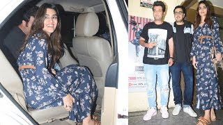 Arjun Patiala Co-Star Kriti Sanon And Vrun Sharma Spotted At PVR JUHU
