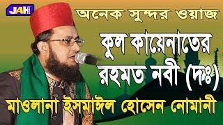 Bangla Waz   কুল কায়েনাতের রহমত নবী (দঃ)   Mawlana Ismail Hossain Numani   ইসমাঈল হোসেন নোমানী 2019