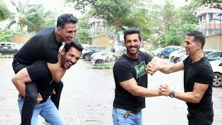 Akshay Kumar And John Abraham Together Promotes Mission Mangal And Batla House