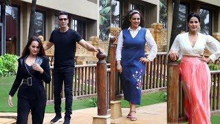 Mission Mangal Star Cast Spotted | Akshay Kumar Sonakshi Sinha, Nithya Menon & Kriti Kulhari