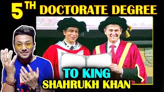 Shahrukh Khan Receives Honorary Doctorate From Melbourne's La Trobe University