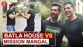 Batla House Vs Mission Mangal: Desi Boyz Akshay Kumar and John Abraham's 'Bromance'