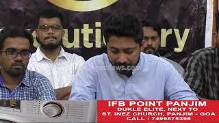 Revolutionary Goans Full Press Conference On Rejection Of POGO Bill