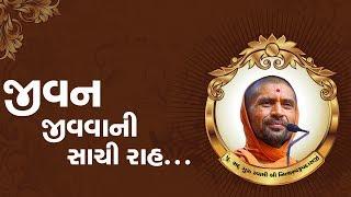 જીવન જીવવાની સાચી રાહ... - પુ સદ. સ્વામી શ્રી નિત્યસ્વરૂપદાસજી