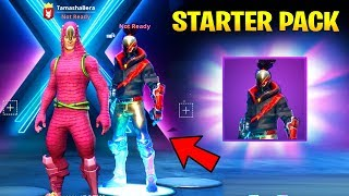 The New RED STRIKE STARTER PACK and FREE REWARDS in Fortnite