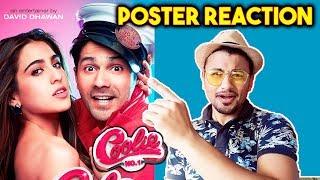 COOLIE NO 1 FIRST LOOK | Reaction | Review | Varun Dhawan | Sara Ali Khan
