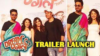 Ayushmann Khurrana Shocking Entry In SAREE   DREAM GIRL Trailer Launch   Nushrat Bharucha