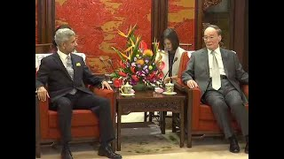 Watch: EAM S Jaishankar meets Vice President of China in Beijing