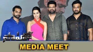 Saaho Team Media Interaction Meet | Prabhas | Shraddha Kapoor | Bhavani HD Movies
