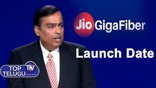 Jio Phone 3 Jio Giga Fiber Launch 2019   Latest News About Ambani New Innovation   Top Telugu TV