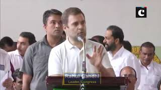 Kerala floods: Called PM Modi, asked for support from Centre, says Rahul Gandhi