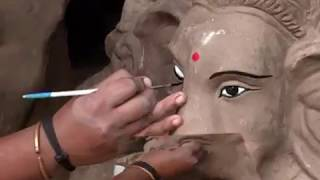 Big Clay Ganesha idols Eco Friendly Vinayaka Making #Clay Ganapathi#Matti Ganapathi#Matti Vinayaka