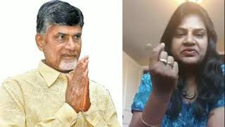 Chandra babu naidu lady fans emotional talk after ap elections results || online entertainment