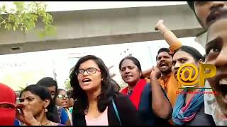 We want justice warning to telangana cm kcr | telangana police | telangana students | warangal case