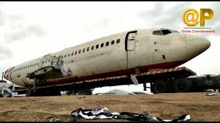 Flight ON Road Traveling Lorry Modification On Hotel || Flight Hotel in Vijayawada || Online