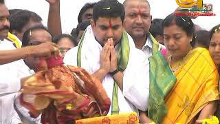 Nara Lokesh Participates Jalaharathi To Pattiseema Water || Online Entertainment