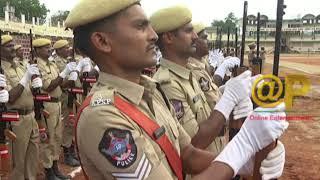 Andhra Pradesh Police Parade Trial Run | Indira Gandhi Stadium | News online entertainment