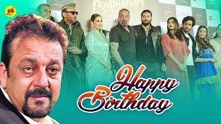 Sanjay Dutt's 60th Birthday Party | Sanjay Dutt's FUNNY Moments - Birthday Celebration Video 2019