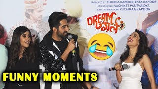 Dream Girl Trailer Launch | FUNNY MOMENTS | Ayushmann Khurrana, Nushrat Bharucha, Ekta Kapoor
