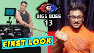 Bigg Boss 13 Salman Khan FIRST LOOK Out | Salman In GYM Outfit
