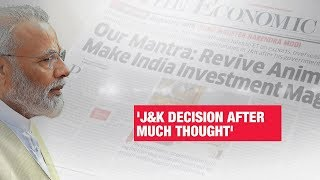 PM Modi to ET: Kashmir decision after great deal of thought | Economic Times Exclusive
