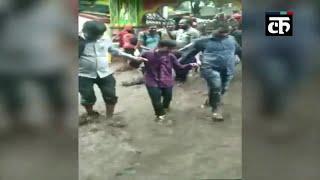 ओडिशा: भारी वर्षा के कारण हरिशंकर झरना हुआ ओवरफ्लो, हरिशंकर मंदिर घुसा पानी