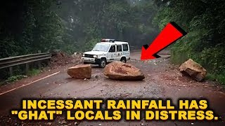 """Incessant rainfall has """"ghat"""" locals in distress."""