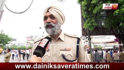बंद मौके ADCP Parminder Bhandal ने Jalandhar वासियों से की यह अपील