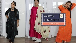 Amazon Kurta | Amazon Kurta Set under Rs 800 | Giveaway worth Rs 500