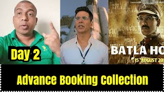 Mission Mangal Vs <span class='mark'>Batla House</span> Advance Booking Collection In 2 Days