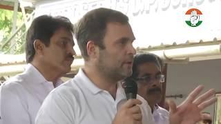Shri Rahul Gandhi visits flood affected areas in Keralas Meppadi