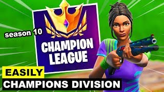 How To EASILY Reach Champion Division In Arena! - Fortnite Battle Royale (Season 10)