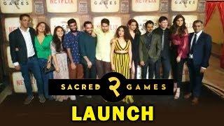 SACRED GAMES 2 Grand Launch | Saif Ali Khan Nawazuddin Siddiqui, Pankaj Tripathi,