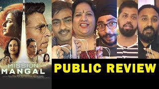 MISSION MANGAL PUBLIC REVIEW | First Day First Show | Akshay