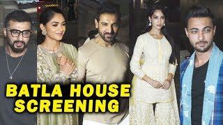 BATLA HOUSE Special Screening With John Abraham Nora Fatehi, Mrunal Thakur