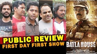 BATLA HOUSE PUBLIC REVIEW | First Day First Show | John Abraham