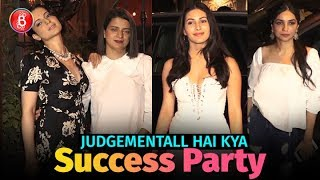 Kangana Ranaut Amyra Dastur Kanika Dhillon Attend Judgementall Hai Kya Success Bash