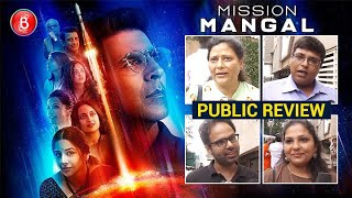 Mission Mangal Public Review   Akshay Kumar   Vidya Balan   Taapsee Pannu