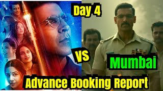 Mission Mangal Vs <span class='mark'>Batla House</span> Advance Booking Report Day 4 In Mumbai