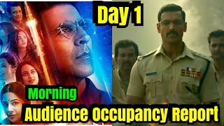 Mission Mangal Vs Batla House Morning Audience Occupancy Day 1