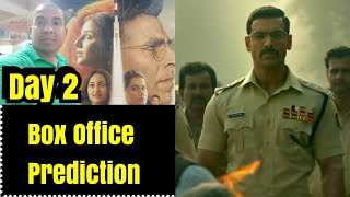 Mission Mangal Vs <span class='mark'>Batla House</span> Box Office Prediction Day 2