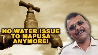 No Water Issue To Mapxekars From Tomo Assures PWD Minister