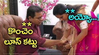 Ex MP Kavitha Ties Rakhi to His Brother KTR   Rakshka Bandhan 2019   TRS Party   Top Telugu TV