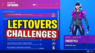 THE LEFTOVERS CHALLENGES - ELIMINATE MEMBERS OF THE HORDE AT RETAIL ROW (FREE REWARDS) FORTNITE