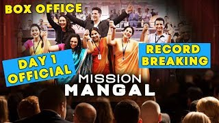 Mission Mangal DAY 1 Official Collection | RECORD Breaking Collection | Akshay Kumar