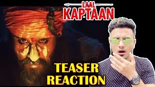 LAAL KAPTAAN TEASER REACTION | REVIEW | Saif Ali Khan As Naga Sadhu