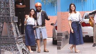 Sunny Leone And Rannvijay Singh Spotted At Play School FUSION JUHU