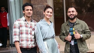 Prada Album Promotion | The Doorbeen | Alia Bhatt Spotted At Juhu